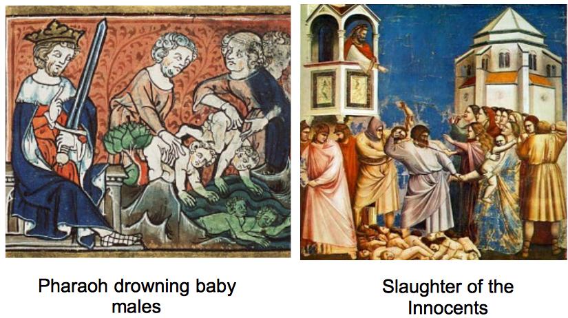 pharaoh killing baby males