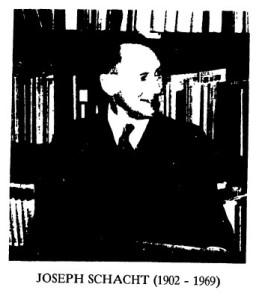 Joseph Schacht
