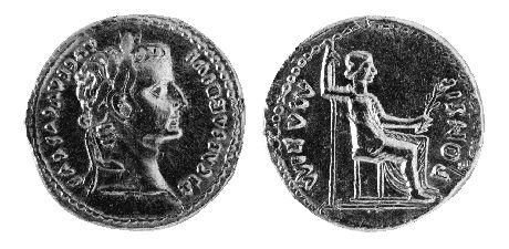 Roman Coin: Tiberius Caesar