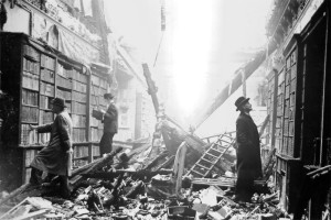 London Library after the Blitz